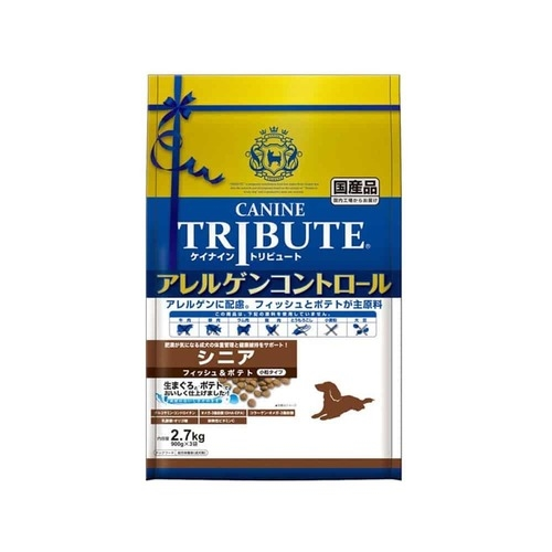 Canine Tribute Tuna and Potato Senior Dry Dog Food