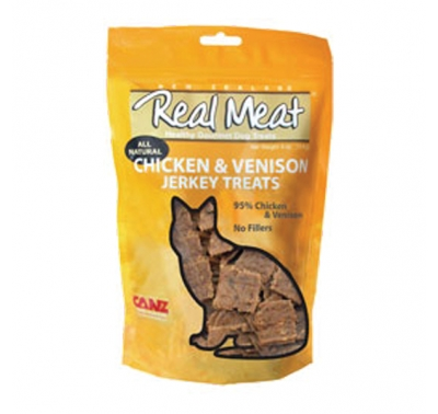 Canz Real Meat Chicken & Venison Jerky Cat Treat