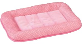 Marukan Far Infrared Bed M Pink 530x380x50mm