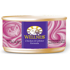 Wellness Canned Cat Food - Chicken & Lobster 5.5oz