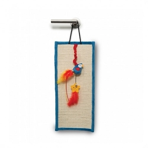 Catit Play Pirates Door Hanger with Catnip Parrot and Star