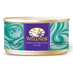 Wellness Canned Cat Food - Sardine, Shrimp & Crab 5.5oz