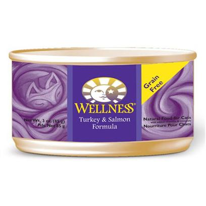 Wellness Canned Cat Food - Turkey & Salmon Cat 5.5oz