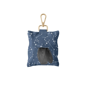 Fringe Studio Celestial Dog Waste Bag Dispenser