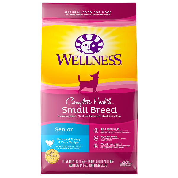 [UP TO 30% OFF w/ FREE GIFT] Wellness Small Breed Senior