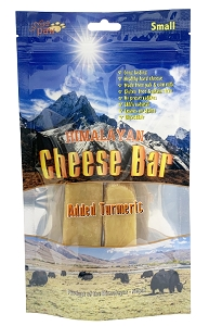 Sing-A-Paw Himalayan Cheese Bar with added Turmeric