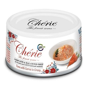 Cherie Canned Tuna with Carrot in Gravy - Urinary Care Cat Food (Complete & Balanced Series)