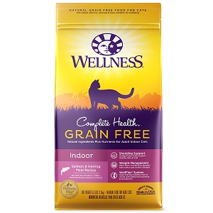 Wellness Complete Health Grain Free Indoor Cat Salmon & Herring