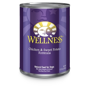 Wellness Complete Health, Chicken & Sweet Potato Formula, Canned Dog Food