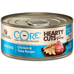 Wellness Cat canned Shredded Chicken & Tuna Recipe