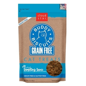Cloudstar Grain Free Buddy Biscuits Cat Treat