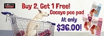 PROMO! Cocoyo Pet Sheet Buy 2 Get 1 Free!