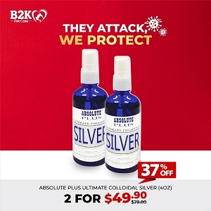 [HYGIENE CAMPAIGN] Absolute Plus Collodial Silver - 2 for $49.90