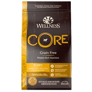 [UP TO 30% OFF w/ FREE TREATS for Large bag]  Wellness Core Puppy
