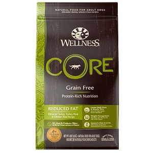 [UP TO 30% OFF w/ FREE TREATS for Large bag] Wellness Core Dry Reduced Fat
