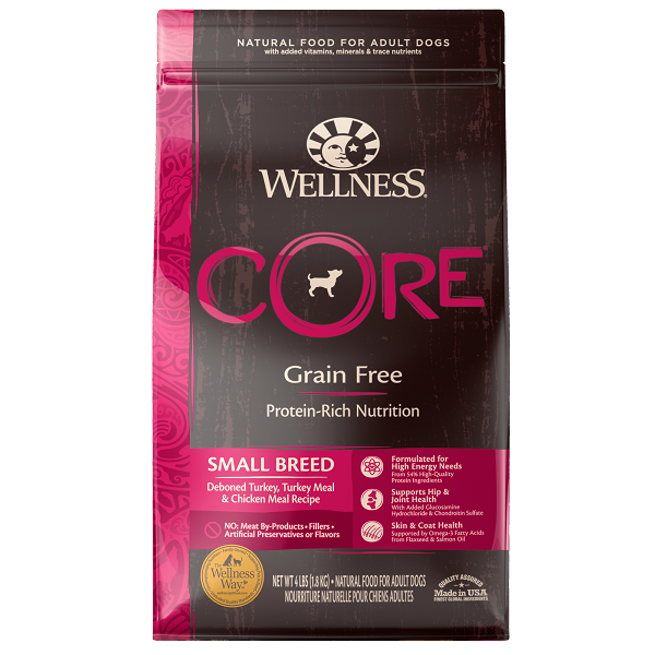 [UP TO 30% OFF w/ FREE GIFT] Wellness Core Small Breed