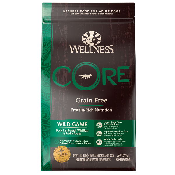 [UP TO 30% OFF w/ FREE GIFT] Wellness Core Dry Wild Game