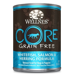 Wellness Core Canned Dog Grain Free Salmon, Whitefish & Herring Formula