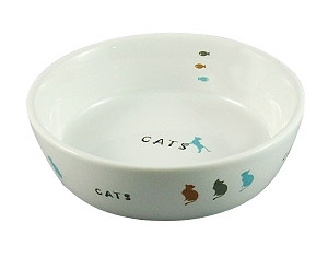Marukan Porcelain Pet Feeder for Cats (S)