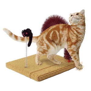 Marukan Cat Scratcher Brush W240xD300xH260mm