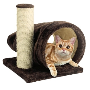 Marukan Cat Scratcher Brisky Tunnel W300xD360xH330mm