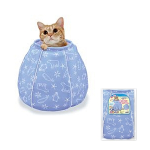 Marukan Cooling Cat Bed Pot Shape 38x38x35cm