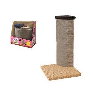 Marukan Cat Scratching Tower for Corner Cardboard Type 30x30x52cm