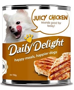 Daily Delight Canned Juicy Chicken
