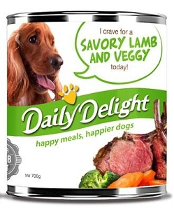 Daily Delight Canned Savory Lamb and Veggy