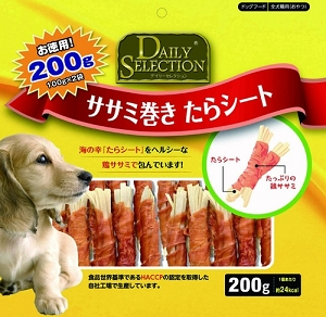 Daily Selection Chicken Roll Surimi 200gm RD-095