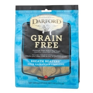 Darford Grain Free Breath Beaters Dog Treats 340gm