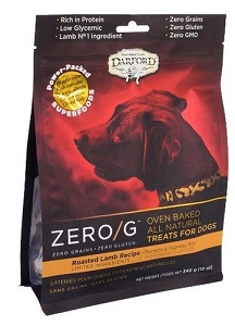 Darford Zero/G Roasted Lamb Recipe Dog Treats