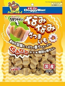 Doggyman Wavy Sweet Potato Slice 300g
