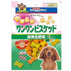 Doggyman Bowwow Soft Biscuit with Vegetables 120g