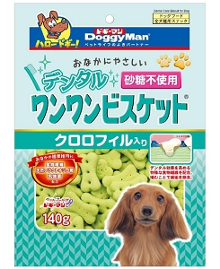 Doggyman Dental Biscuit with Chlorophyll 140g