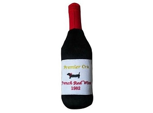 Doggie Goodie Premier Cru Red Wine bottle Toy