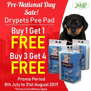 [Pre-National Day SALE - Buy 1 Free 1] Janp Pee Pad