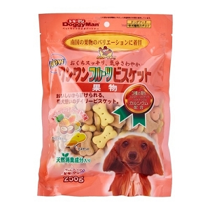 DoggyMan Bowwow Fruits Biscuits