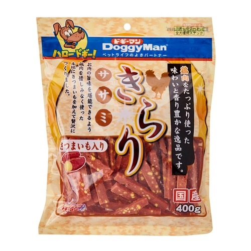 DoggyMan Glitter Sasami with Sweet Potato