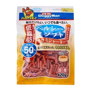 DoggyMan Healthy Soft Sasami Jerky Cut