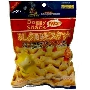 DoggyMan Milk Flavour Biscuits