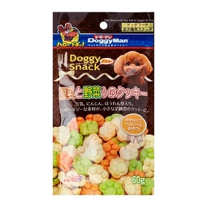DoggyMan Soybean Milk & Vegetable Cookie