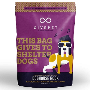 GivePet Doghouse Rock Grain Free Small Batch Cookie Treats