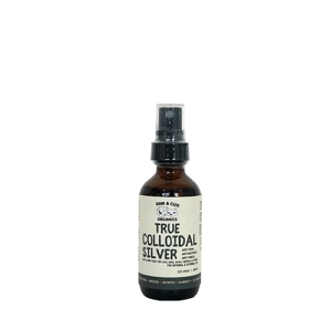 Dom & Cleo Organics Colloidal Silver Spray 2oz