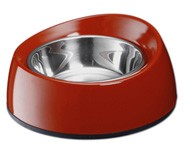 Marukan Melamin Dog Feeder Bouno Bouno Shallow S