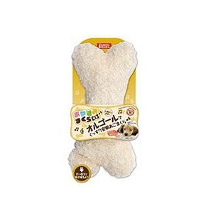 Marukan Music Box Pillow for Dog Bone Shape 30x15x06cm