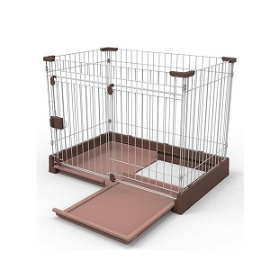 Marukan Easy Cleaning Dog Circle Brown