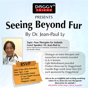 New Therapies for Animals - Guest speaker Dr. Jean Paul Ly