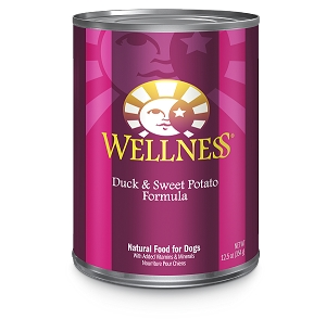 Wellness Complete Health, Duck & Sweet Potato Formula, Canned Dog Food