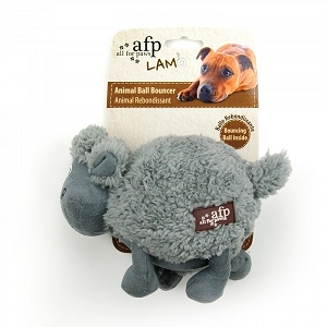 AFP Lamb Cuddle Ball Bouncers Assorted 6 inch